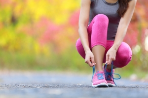 ひざ痛、ウォーキング、靴