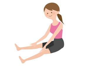 膝関節 可動域 ストレッチ