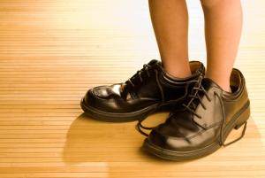 靴のサイズ、ひざ痛、外反母趾