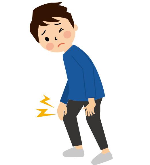 ひざ関節痛